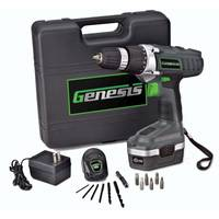 Genesis 18V Cordless Drill Kit from Blain's Farm and Fleet