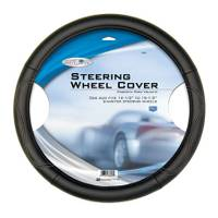 Custom Accessories Leatherette Steering Wheel Cover from Blain's Farm and Fleet