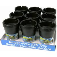 Custom Accessories Black Smokeless Ashtray from Blain's Farm and Fleet