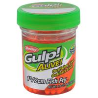 Berkley Fluorescent Orange Gulp Alive Fish Fry Bait from Blain's Farm and Fleet