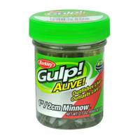 Berkley Emerald Silver Gulp Alive Minnow from Blain's Farm and Fleet