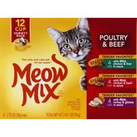 Meow Mix Cat Food Variety Pack from Blain's Farm and Fleet