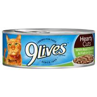 9 Lives Hearty Cuts With Real Chicken & Fish In Gravy Cat Food from Blain's Farm and Fleet