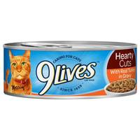 9 Lives Hearty Cuts With Real Turkey In Gravy Cat Food from Blain's Farm and Fleet