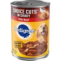 Pedigree Choice Cuts in Gravy Dog Food from Blain's Farm and Fleet