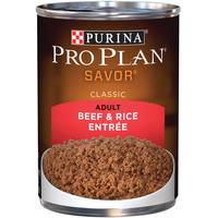 Purina Pro Plan Savor Beef & Rice Entree Adult Wet Dog Food from Blain's Farm and Fleet