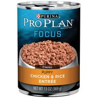 Purina Pro Plan Focus Chicken & Rice Entree Wet Puppy Food from Blain's Farm and Fleet