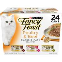 Fancy Feast Poultry & Beef Classic Pate Collection Variety Pack from Blain's Farm and Fleet