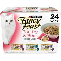 Fancy Feast Poultry & Beef Grilled Collection Variety Pack from Blain's Farm and Fleet