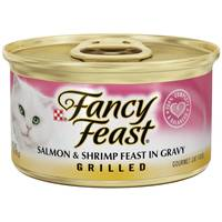 Fancy Feast Grilled Salmon & Shrimp Feast In Gravy from Blain's Farm and Fleet
