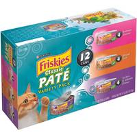 Friskies Classic Pate Variety Pack from Blain's Farm and Fleet