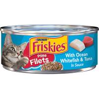 Friskies Prime Filets With Ocean Whitefish & Tuna In Sauce from Blain's Farm and Fleet