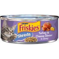 Friskies Shreds Turkey & Cheese Dinner In Gravy from Blain's Farm and Fleet