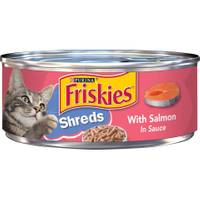 Friskies Shreds With Salmon In Sauce from Blain's Farm and Fleet