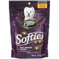 Cesar Softies Dog Treats from Blain's Farm and Fleet