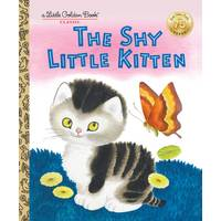 Little Golden Books The Shy Little Kitten from Blain's Farm and Fleet