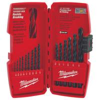 Milwaukee Thunderbolt Black Oxide Drill Bit Set 15 Piece from Blain's Farm and Fleet