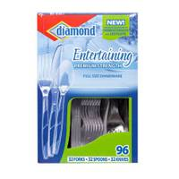 Diamond Entertaining Full Size Dinnerware from Blain's Farm and Fleet