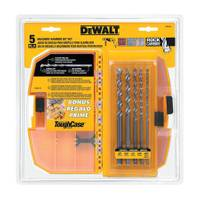 DEWALT Premium Percussion Masonry Drill Bit Set from Blain's Farm and Fleet