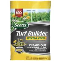 Scotts 5,000 sq. ft. Turf Builder Weed & Feed from Blain's Farm and Fleet