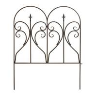 Panacea Black Finial Border Fence from Blain's Farm and Fleet