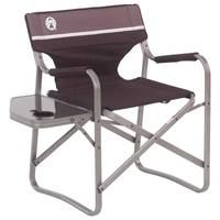 Coleman Elite Deck Chair with Side Table from Blain's Farm and Fleet