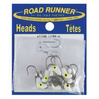 Road Runner by Blakemore White Road Run Jig Heads from Blain's Farm and Fleet