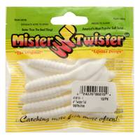 Mister Twister White Twister Tail Fishing Lures from Blain's Farm and Fleet