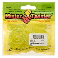 Mister Twister Chartreuse and Silver Twister Tail Fishing Lures from Blain's Farm and Fleet