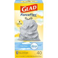 Glad OdorShield Tall Kitchen Garbage Bags from Blain's Farm and Fleet