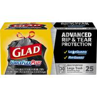 Glad Strong ForceFlex Garbage Bags from Blain's Farm and Fleet