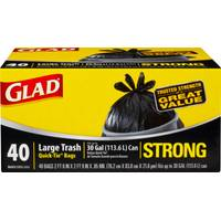 Glad Outdoor Trash Quick Tie from Blain's Farm and Fleet