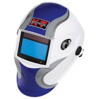 K - T Industries, Inc. Cool Blue Auto - Darkening Welding Helmet from Blain's Farm and Fleet