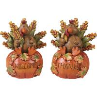 Transpac Imports Inc. Resin Turkey Figurine Assortment from Blain's Farm and Fleet
