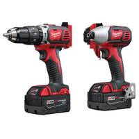 Milwaukee Cordless LITHIUM-ION Compact Drill / Impact Driver Kit from Blain's Farm and Fleet