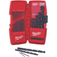 Milwaukee 21 Piece Thunderbolt Black Oxide Drill Bit Set from Blain's Farm and Fleet