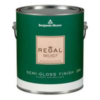 Benjamin Moore 1 Gallon Regal Semi - Gloss Finish Interior Paint from Blain's Farm and Fleet
