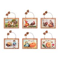 Timeless by Design Vintage Thanksgiving Plaque Assortment from Blain's Farm and Fleet