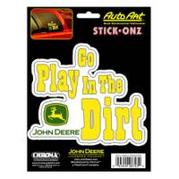 Chroma John Deere Go Play In The Dirt Decal from Blain's Farm and Fleet