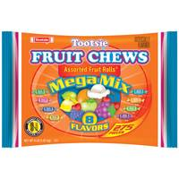 Tootsie Roll Frooties Fruit Rolls Mega Mix 8 Flavor Value Bag from Blain's Farm and Fleet