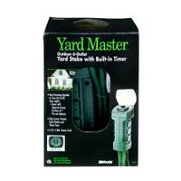 Yard Master 6 Outlet Outdoor Power Stake with Timer from Blain's Farm and Fleet