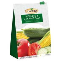 Mrs. Wages Pickling & Canning Salt from Blain's Farm and Fleet