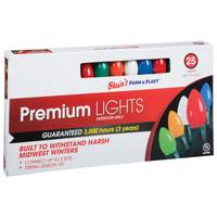 Blain's Farm & Fleet Premium Multi-Colored C9 Indoor & Outdoor Christmas Light Set from Blain's Farm and Fleet