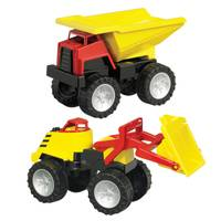 American Plastic Toys Mega Construction Vehicle Set from Blain's Farm and Fleet