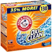Arm & Hammer Concentrated Powder Laundry Detergent with OxiClean Stain Fighters from Blain's Farm and Fleet