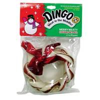 Dingo Holiday Merry Meaty Rawhide Wreath from Blain's Farm and Fleet