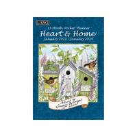 Lang Heart & Home Monthly Pocket Planner from Blain's Farm and Fleet