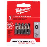 Milwaukee SHOCKWAVE Insert Bit Phillips #2 from Blain's Farm and Fleet