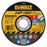 DEWALT Metal Thin Cutoff Wheel from Blain's Farm and Fleet