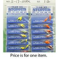 K&E Tackle Tear Drop Ice Fishing Lure from Blain's Farm and Fleet